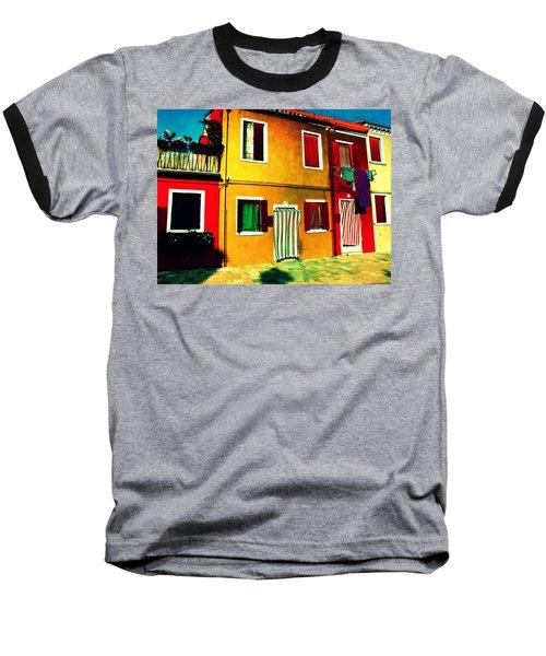 Pittoresco Villaggio Baseball T-Shirt