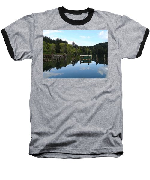 Place Of The Blue Grouse Baseball T-Shirt by Cheryl Hoyle