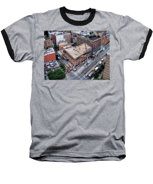 Placing Concrete Forms Baseball T-Shirt