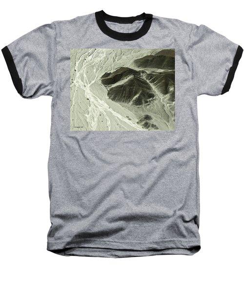 Plains Of Nazca - The Astronaut Baseball T-Shirt
