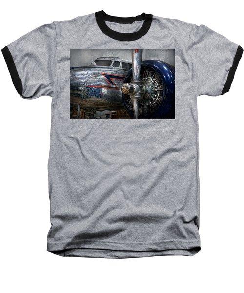 Plane - Hey Fly Boy  Baseball T-Shirt by Mike Savad