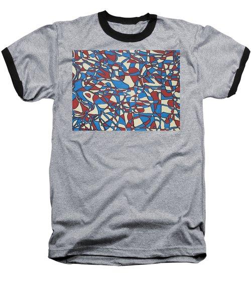 Planet Abstract Baseball T-Shirt