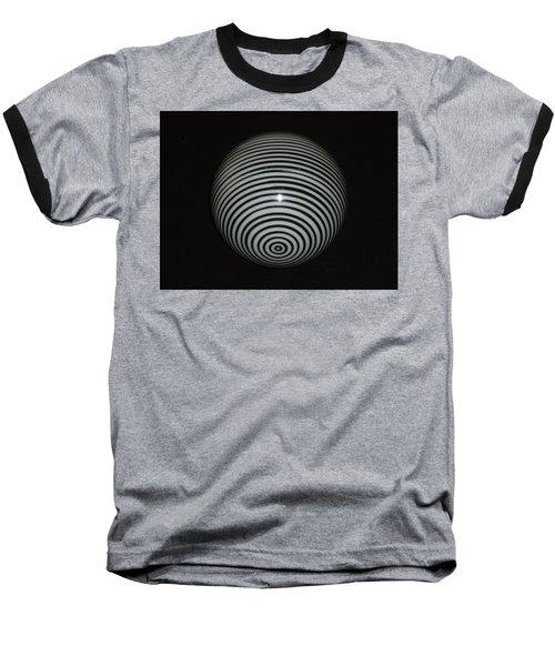 Planet Zebra Baseball T-Shirt by Douglas Fromm