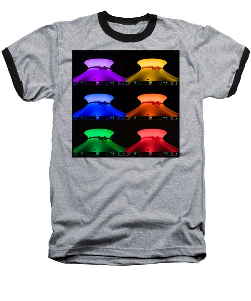Baseball T-Shirt featuring the photograph Planetarium Rainbow by Scott Rackers