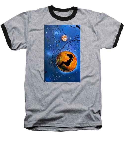 Planet Swing Baseball T-Shirt