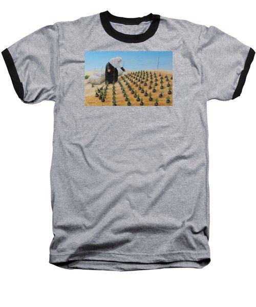 Planting Flowers Baseball T-Shirt