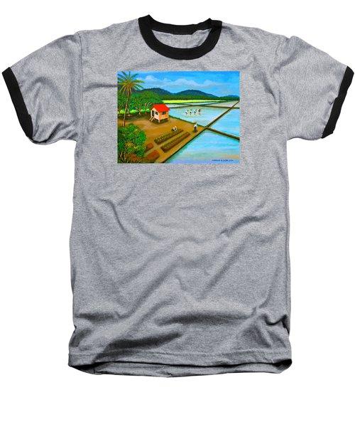 Planting Season Baseball T-Shirt by Cyril Maza