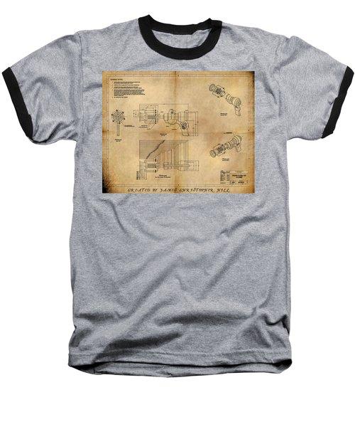 Plasma Gun Baseball T-Shirt
