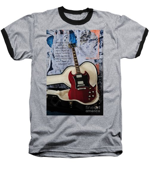 Play It Loud Baseball T-Shirt