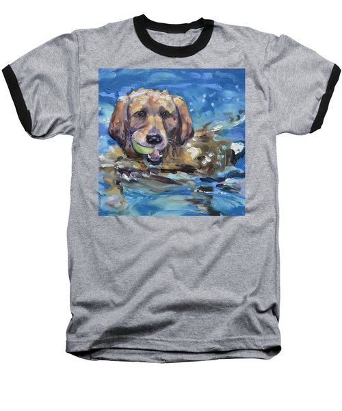 Playful Retriever Baseball T-Shirt