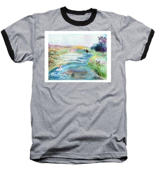 Playin' Hooky Baseball T-Shirt by C Sitton