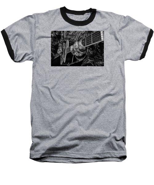 Playin The Blues Baseball T-Shirt