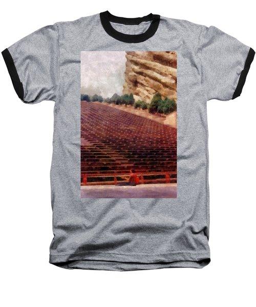 Playing At Red Rocks Baseball T-Shirt