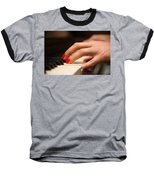 Playing The Piano Baseball T-Shirt