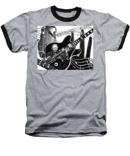 Playing With Lucille - Bb King Baseball T-Shirt