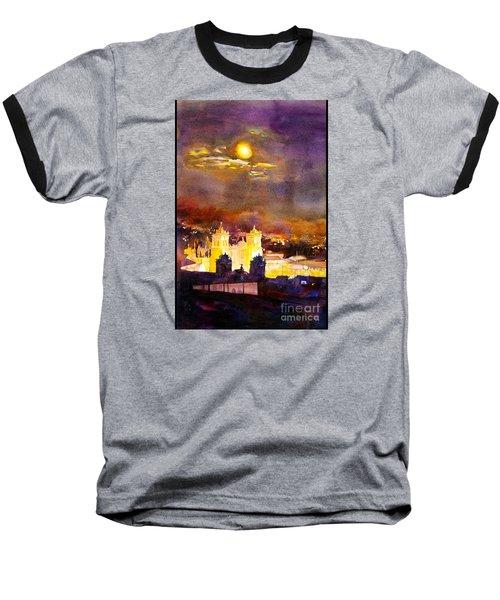 Plaza De Armas- Cusco Baseball T-Shirt by Ryan Fox