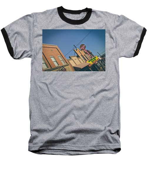 Plaza Theatre Baseball T-Shirt