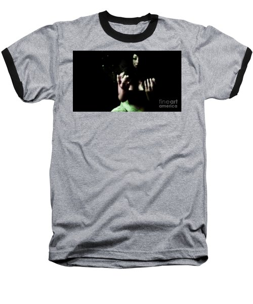 Baseball T-Shirt featuring the photograph Pleading by Jessica Shelton