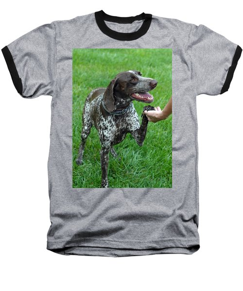 Baseball T-Shirt featuring the photograph Pleased To Meet You by Lisa Phillips