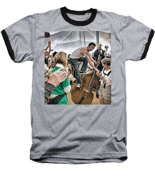 The Lost Bayou Ramblers Pleasing The Crowd Baseball T-Shirt