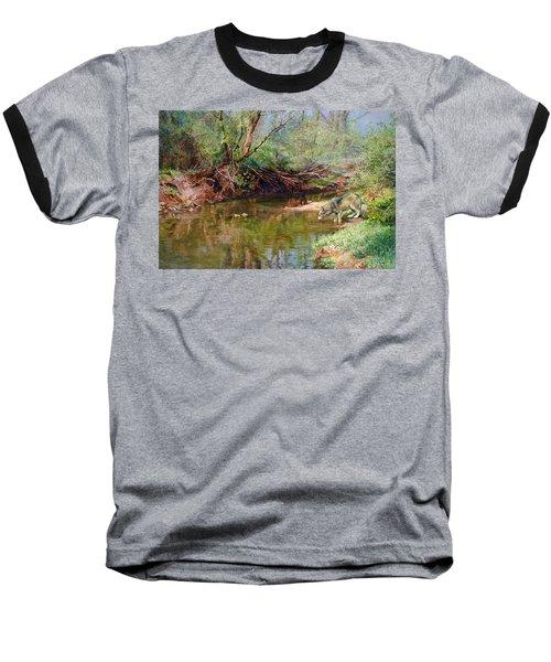 Pleasure Of  The Enchanted Wolf Baseball T-Shirt