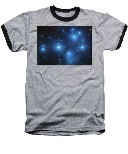 Baseball T-Shirt featuring the photograph Pleiades - Star System by Absinthe Art By Michelle LeAnn Scott