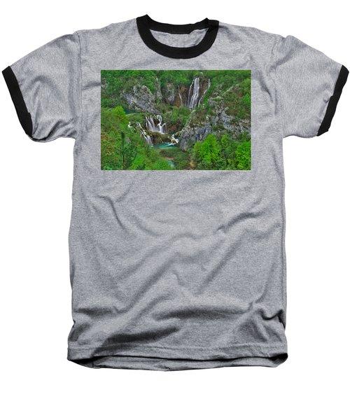 Plitvice Baseball T-Shirt