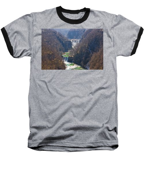 Plitvice Lakes National Park Canyon Baseball T-Shirt by Brch Photography