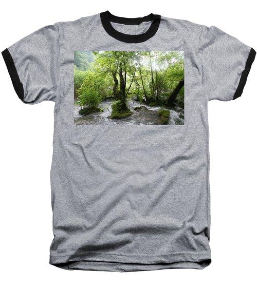 Plitvice Lakes Baseball T-Shirt