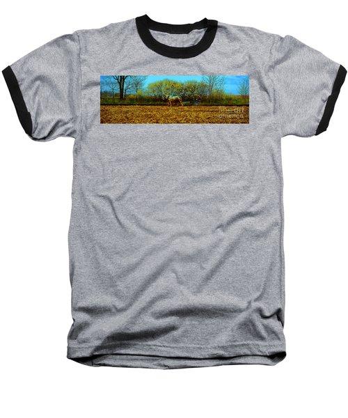 Baseball T-Shirt featuring the photograph Plow Days Freeport  Tom Jelen by Tom Jelen