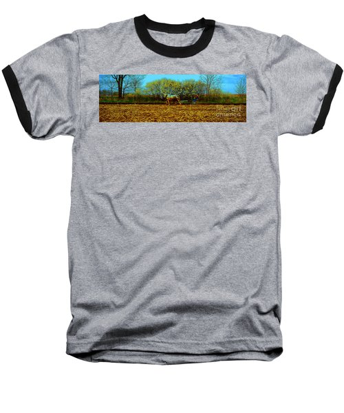 Plow Days Freeport Illinos   Baseball T-Shirt