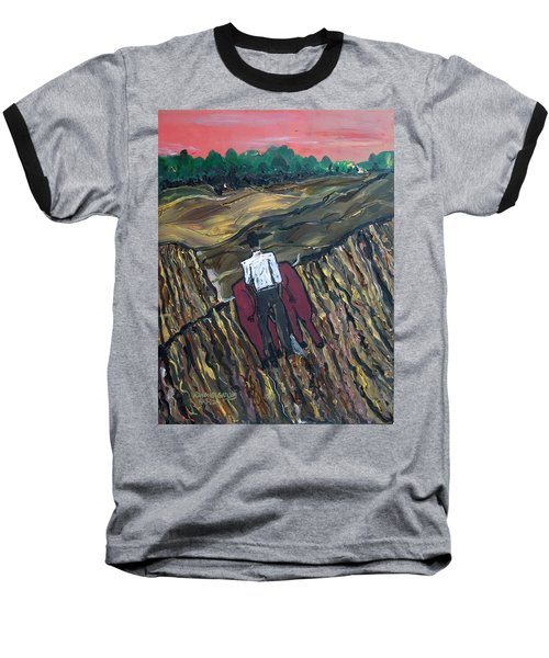 Plow Til' Dawn Baseball T-Shirt