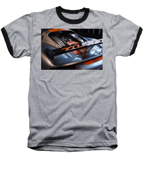 Baseball T-Shirt featuring the photograph Plug In by John Schneider