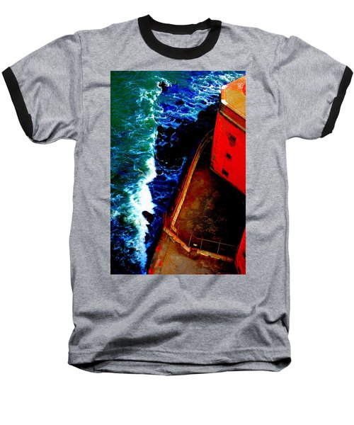 Plunging From Golden Gate Baseball T-Shirt