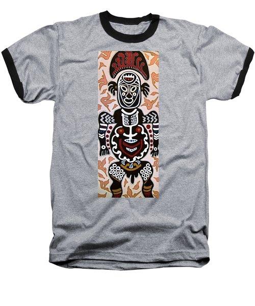 Papua New Guinea Manggi Baseball T-Shirt