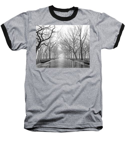 New York City - Poets Walk Central Park Baseball T-Shirt