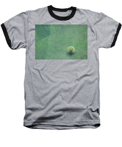 Baseball T-Shirt featuring the photograph Point In The Plane by Davorin Mance