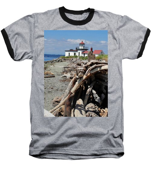 Baseball T-Shirt featuring the photograph Point In View by Natalie Ortiz