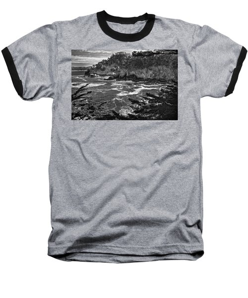 Baseball T-Shirt featuring the photograph Point Lobo  by Ron White