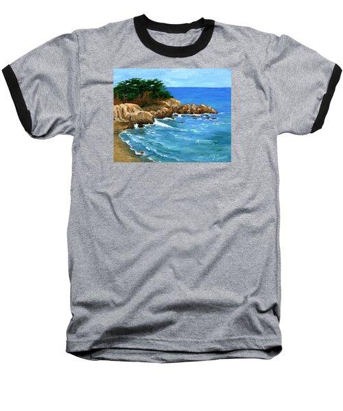 Point Lobos Coast Baseball T-Shirt