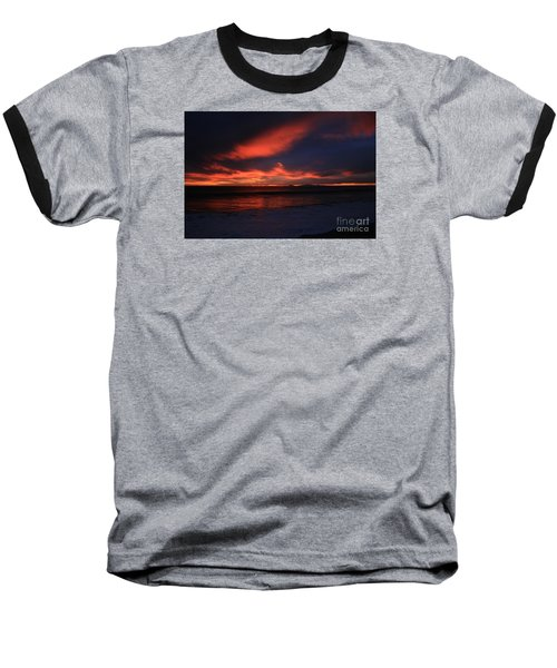Point Mugu 1-9-10 Just After Sunset Baseball T-Shirt