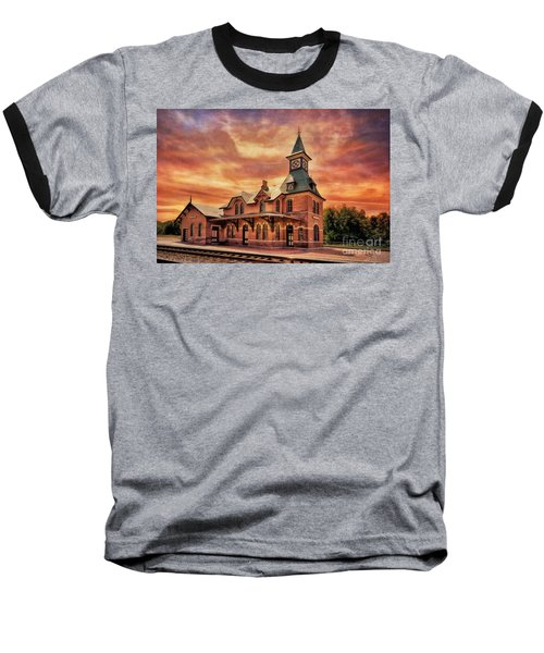 Point Of Rocks Train Station  Baseball T-Shirt