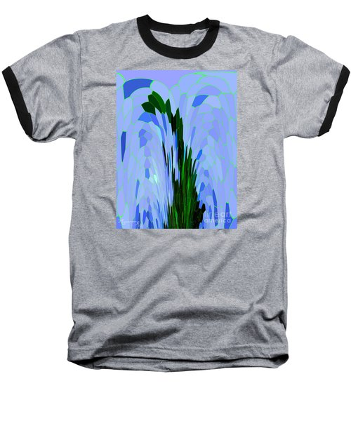 Baseball T-Shirt featuring the digital art Point Of View by Mariarosa Rockefeller
