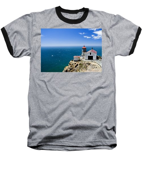 Point Reyes Lighthouse California Baseball T-Shirt
