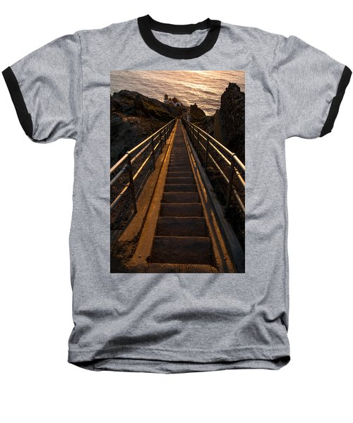 Point Reyes Lighthouse Staircase Baseball T-Shirt