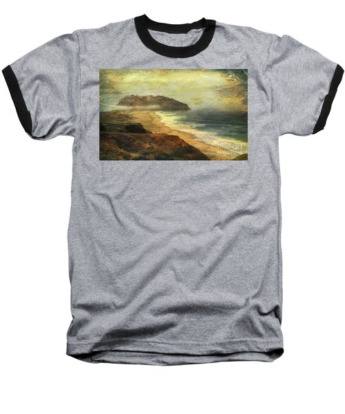 Point Sur Lighthouse Baseball T-Shirt