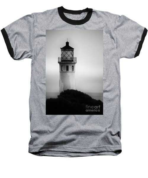 Pointe Vincente Lighthouse Baseball T-Shirt