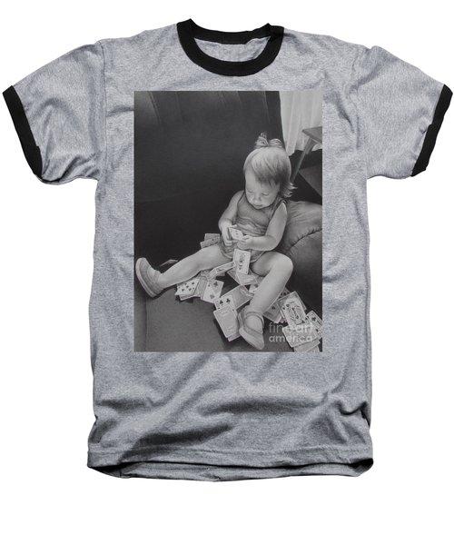 Pokerface Baseball T-Shirt