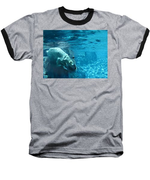 Polar Bear Baseball T-Shirt