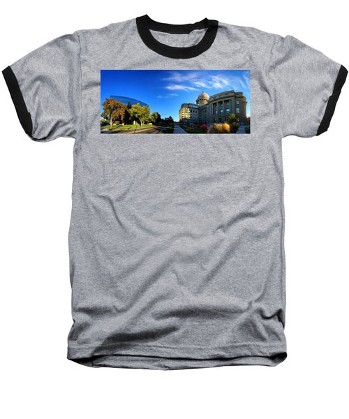 Baseball T-Shirt featuring the photograph Political Warping by David Andersen
